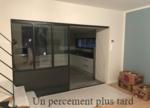 séparation entre la cuisine et le séjour